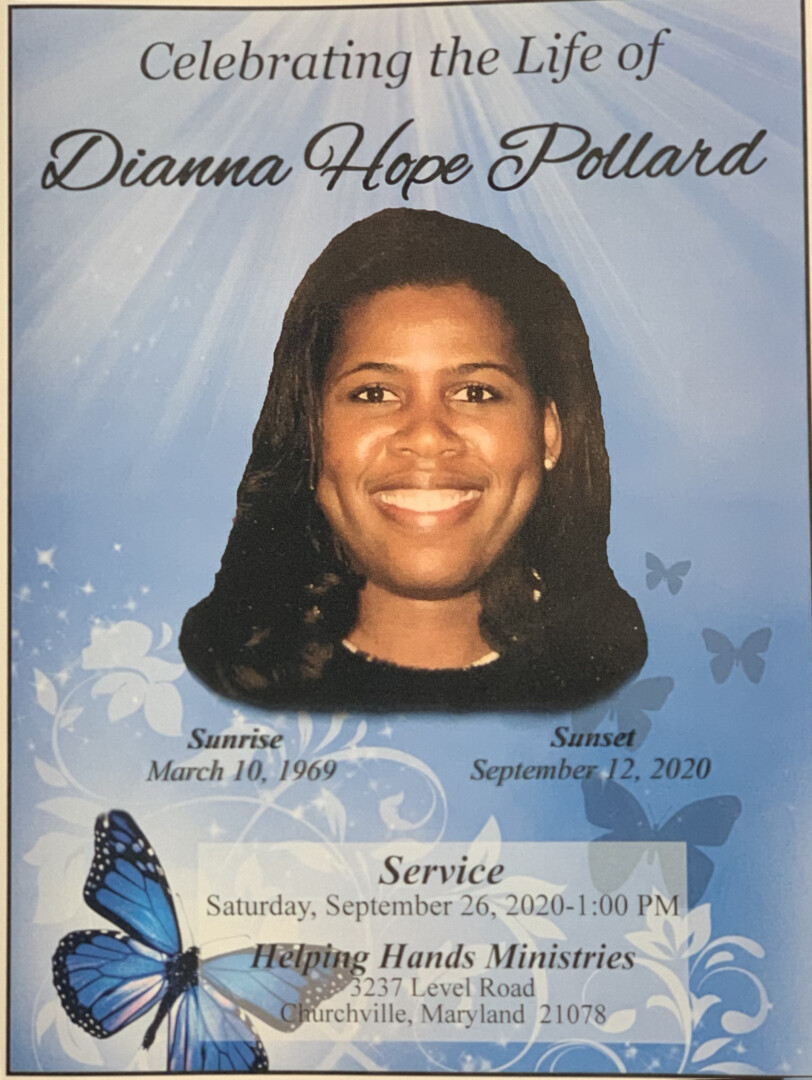 Celebrating the Of Life Dianna Hope Pollard Live Stream